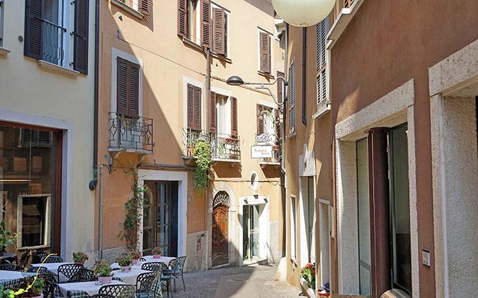 Die Altstadt von Desenzano
