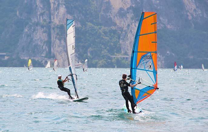 Wassersport am Gardasee