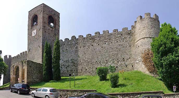 Das Kastell in Moniga del Garda