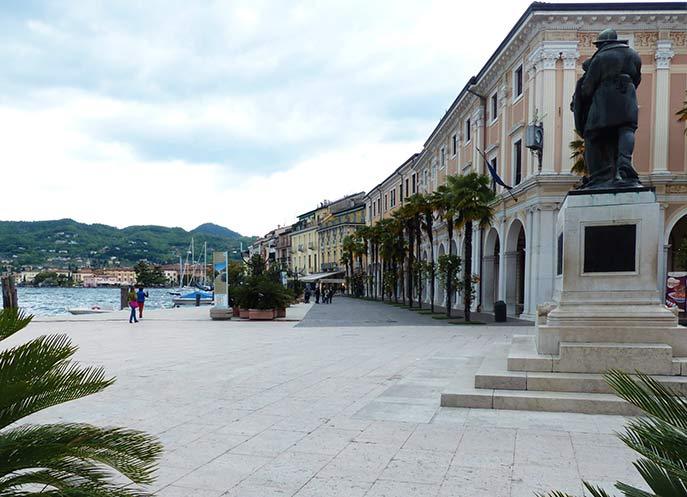 Uferpromenade in Salo