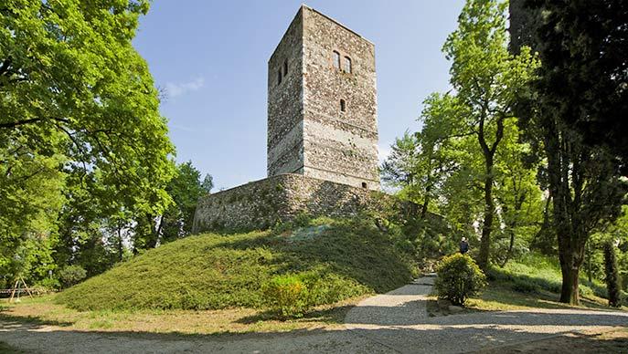 der Turm Spion von Italien