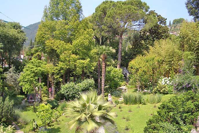 Botanischer Garten in Gardone Riviera