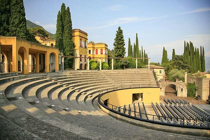 Vittoriale degli italiani Museumskomplex